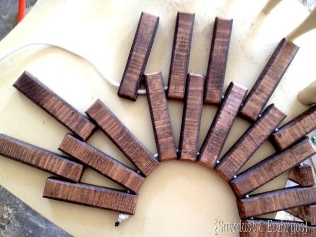 Rounded Wooden Doormat Tutorial
