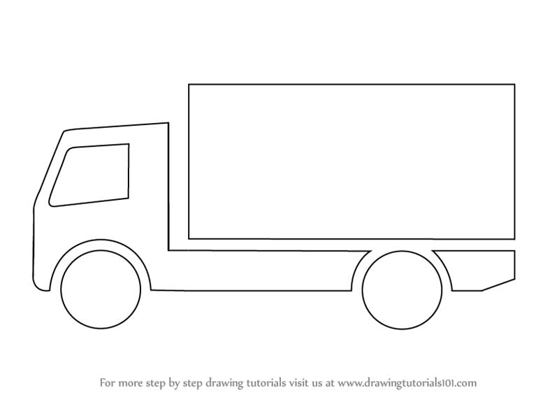 Kid Truck Drawing
