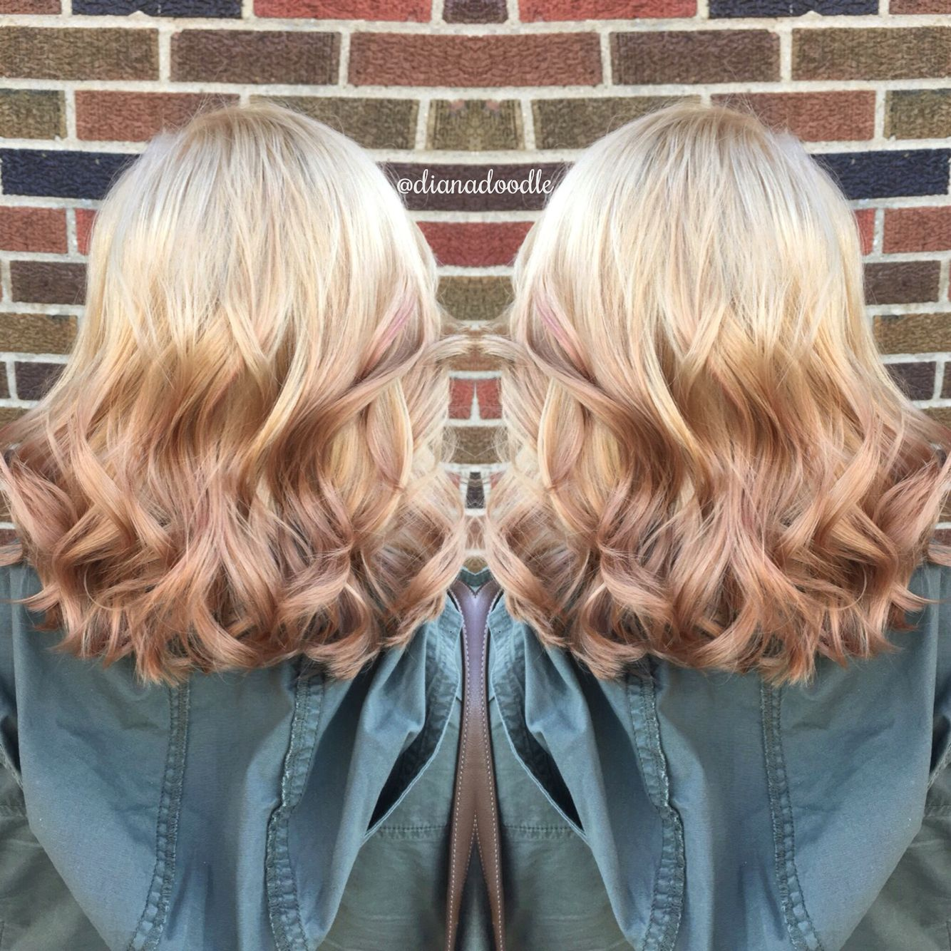 Reverse Blonde Ombre Ombre Hair Blonde