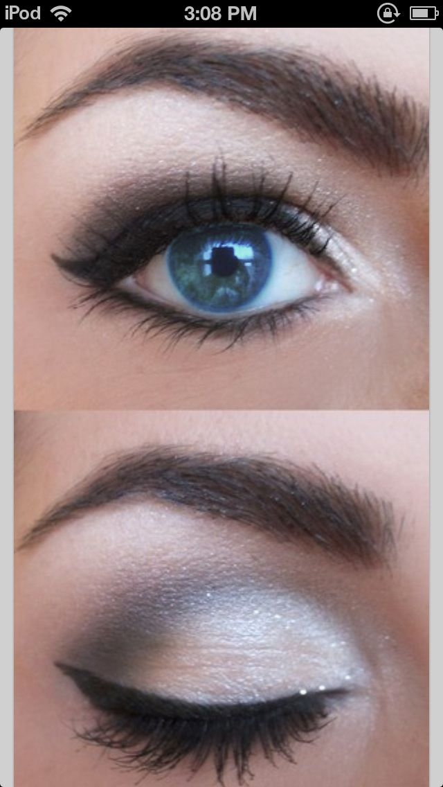 Blue Eyed Makeup On Pinterest Permanent Eyebrows