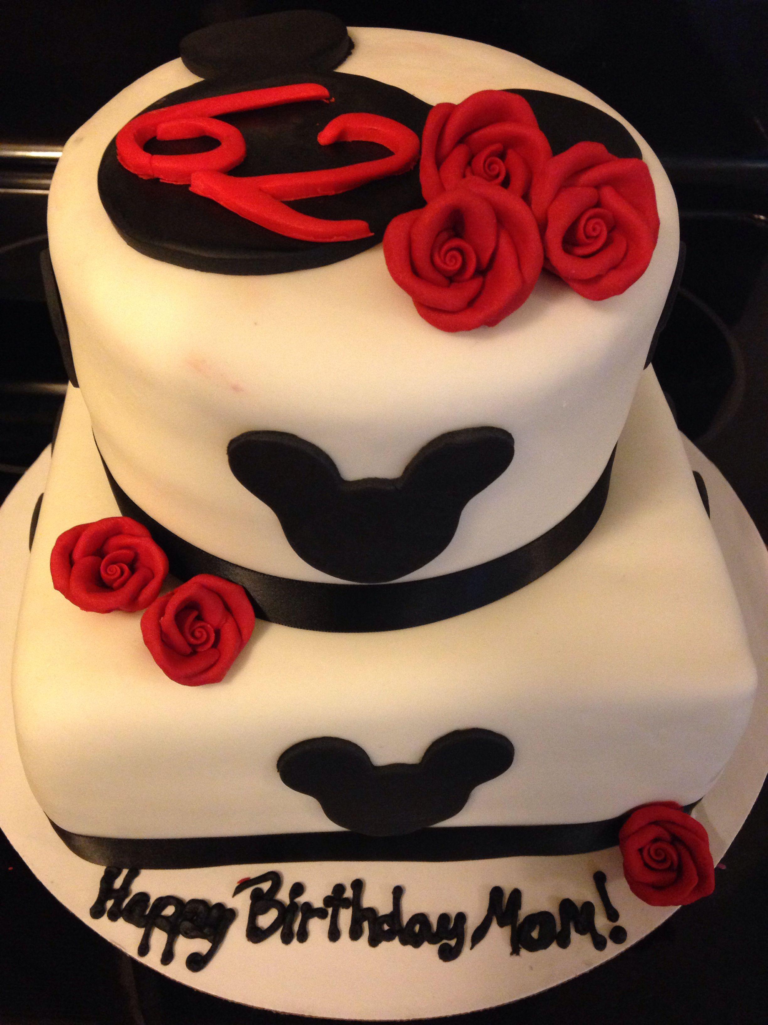 Wondrous Adult Mickey Mouse Cake Mickey Mouse Birthday Cake Disney Personalised Birthday Cards Beptaeletsinfo