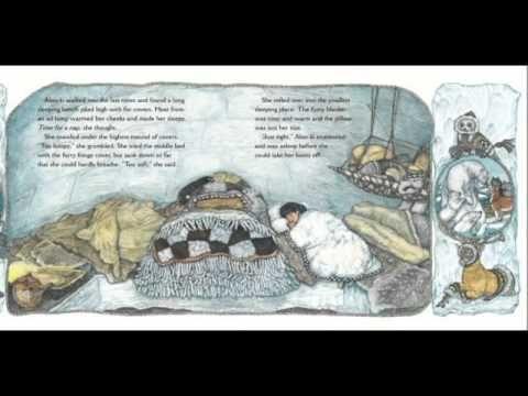 the three snow bears read aloud written by jan brett. Black Bedroom Furniture Sets. Home Design Ideas