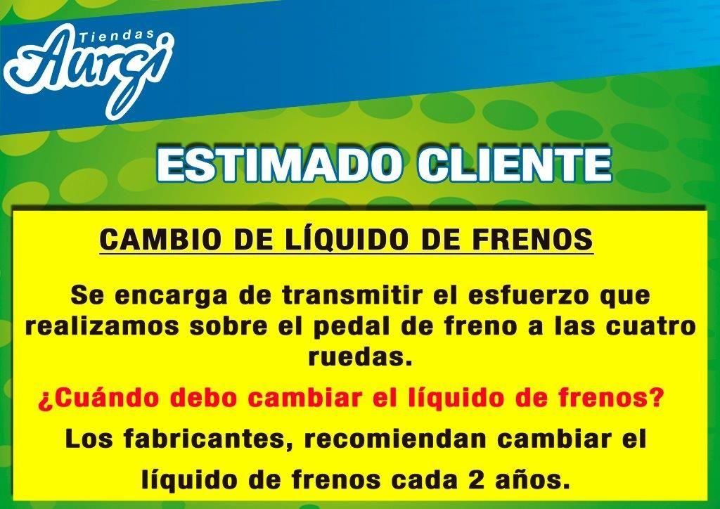 Cambie El Liquido De Frenos Los Fabricantes Recomiendan El Cambio