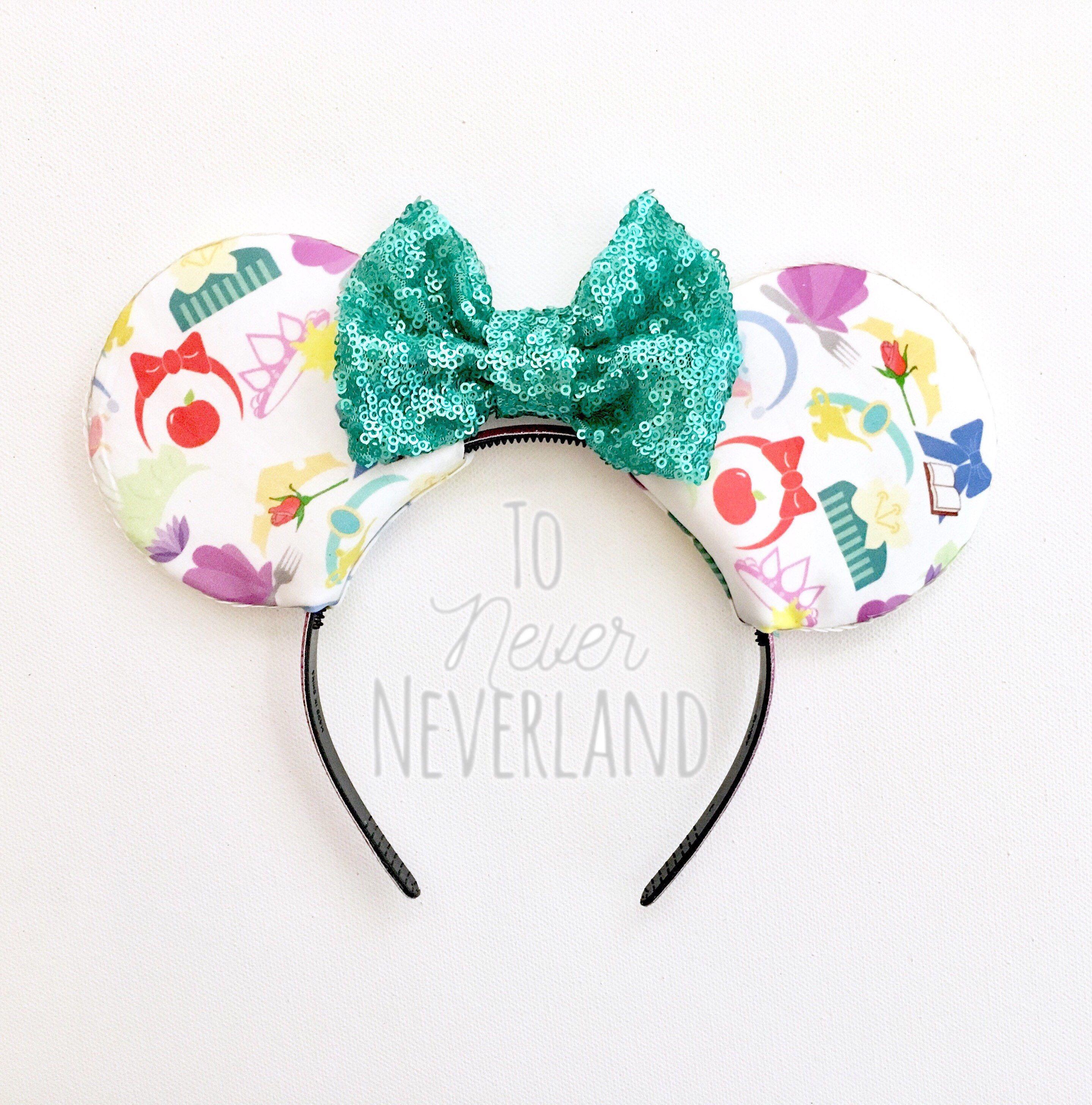 Disney Princess Ears Disney Trip Disney Princesses Disney Minnie Mouse Ears