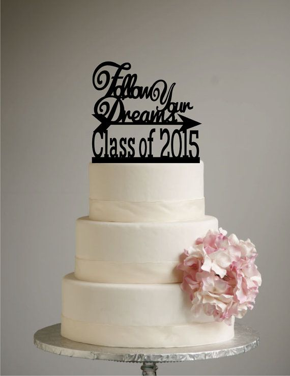 Cake Graduation Toppers