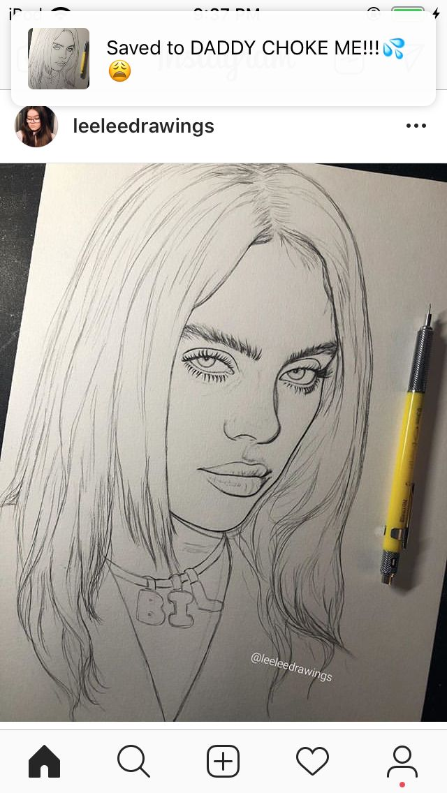 Image Result For Billie Eilish Drawing Billie Eilish Fan Art