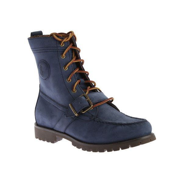 ($150) ? liked on Polyvore featuring men\u0027s fashion, men\u0027s shoes, men\u0027s boots,  casual, combat boots, mens military boots, polo ralph lauren ...
