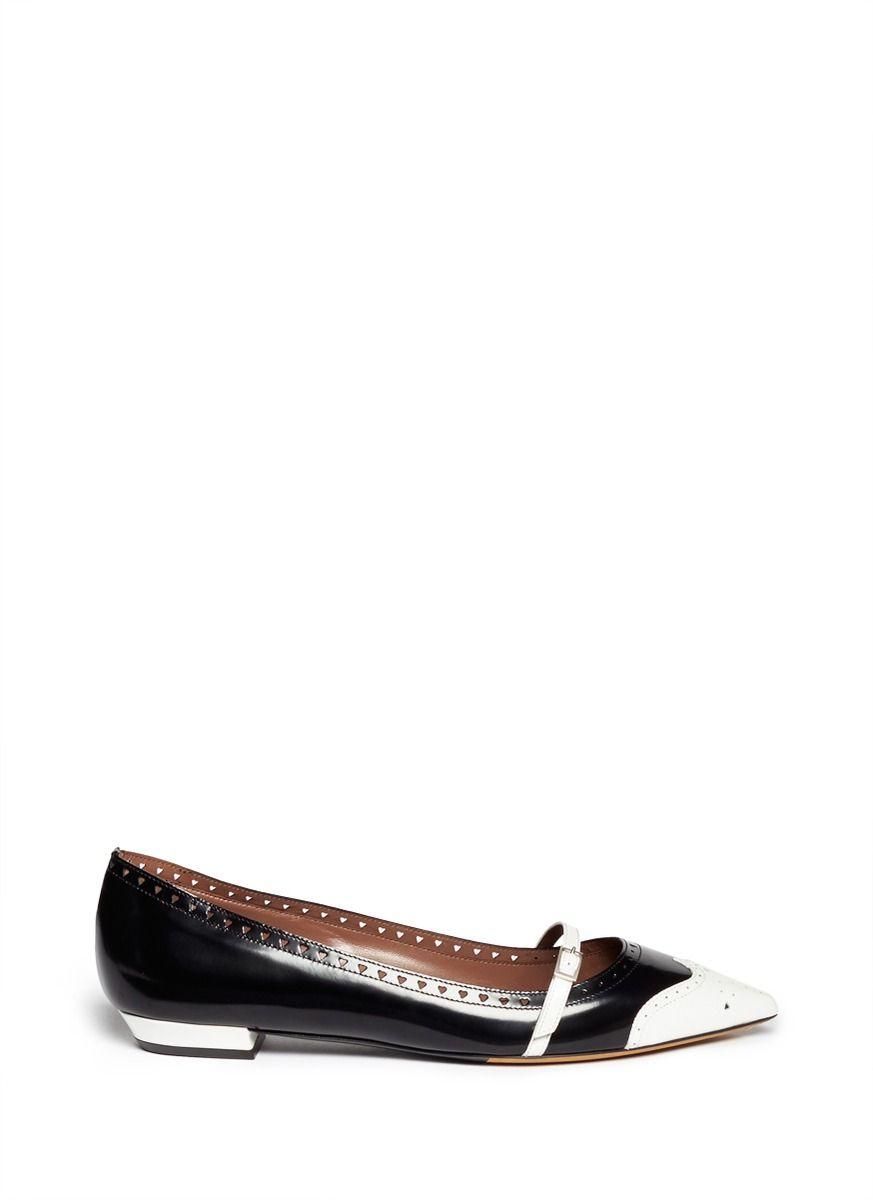 shopping online sale online largest supplier for sale Tabitha Simmons Belfy Brogue Flats cheap sale best sale free shipping genuine outlet with paypal order online B7ayplAw