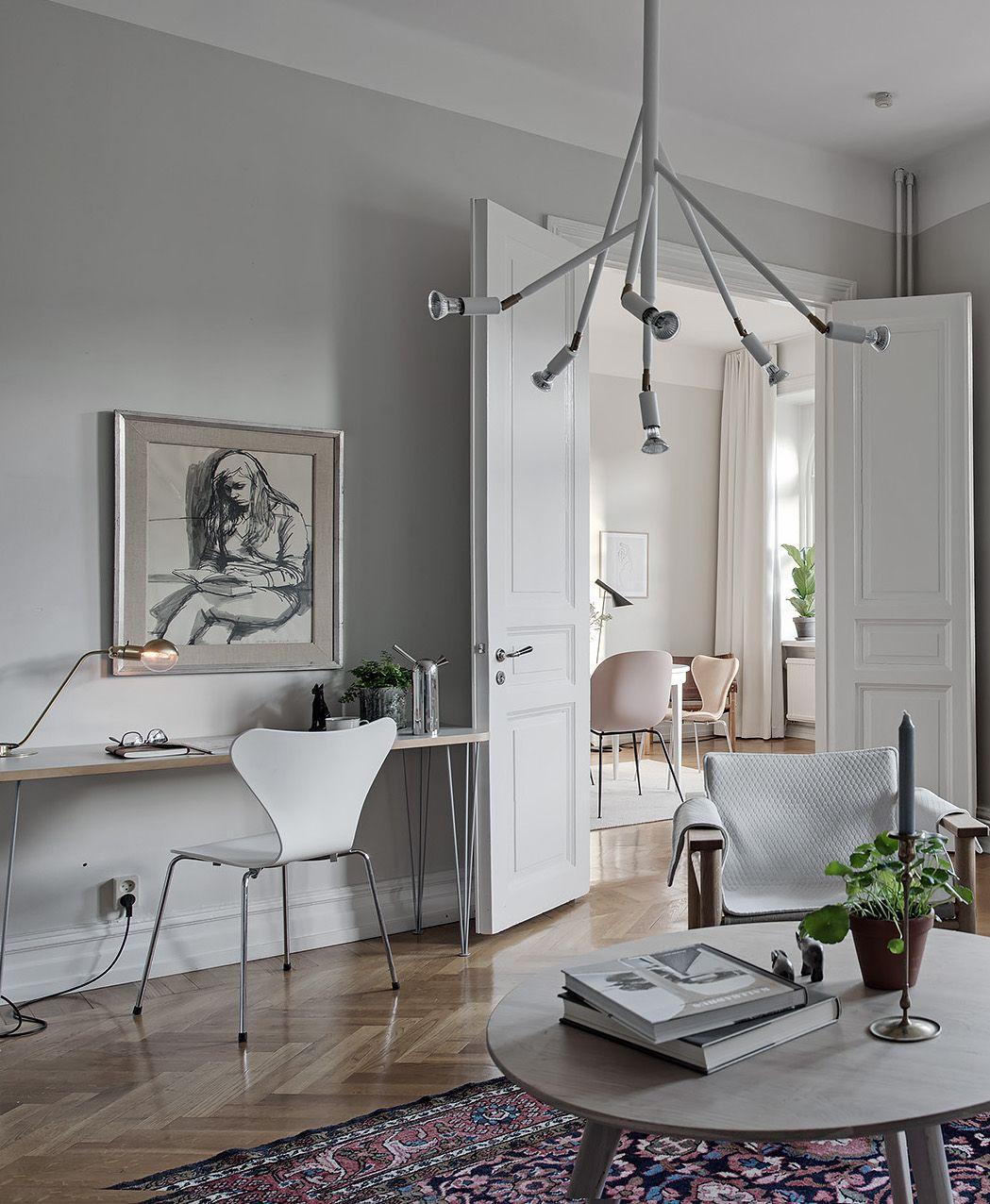 Stylish Apartment With A Soft Look Via Coco Lapine Design Blog - Apartment soft minimalist decor