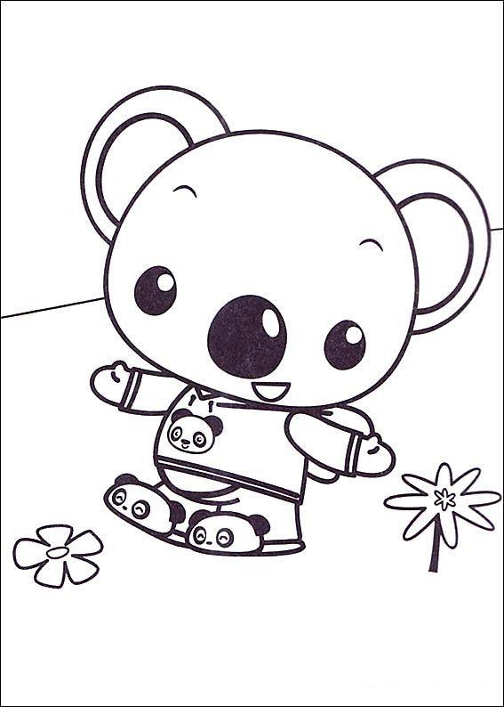 Ni Hao Kai-Lan Fargelegging. Tegninger 4   Fargelegging   Pinterest ...