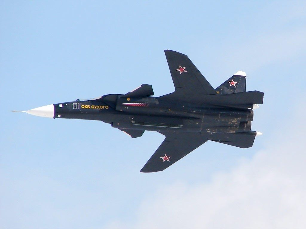 Su - 47 (S - 37 Berkut) Golden Eagle Fighter, Russia