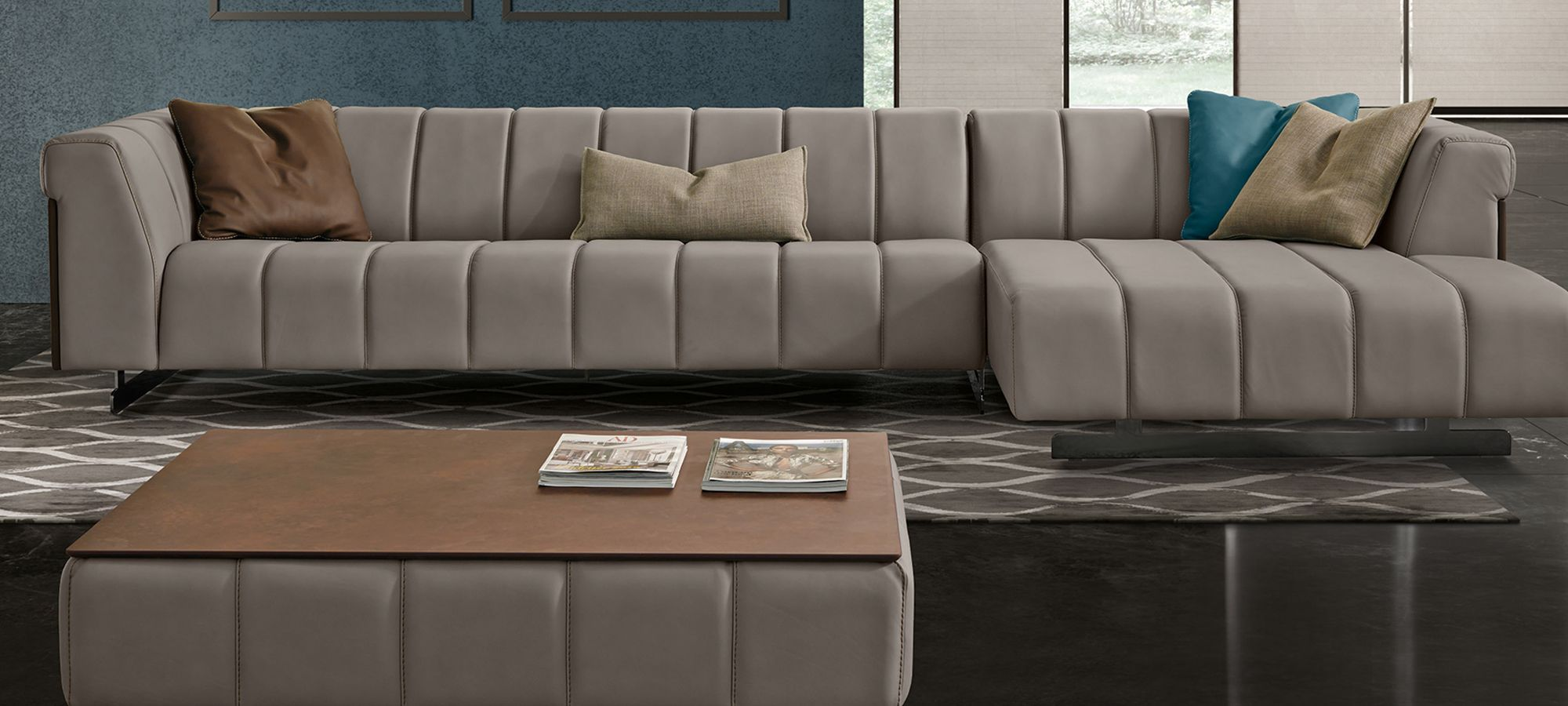 Gamma Nautilus Sofa Design Furniture Luxury Italian Furniture