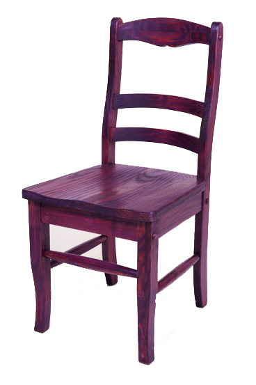 Dye Stain Wood Chair 2