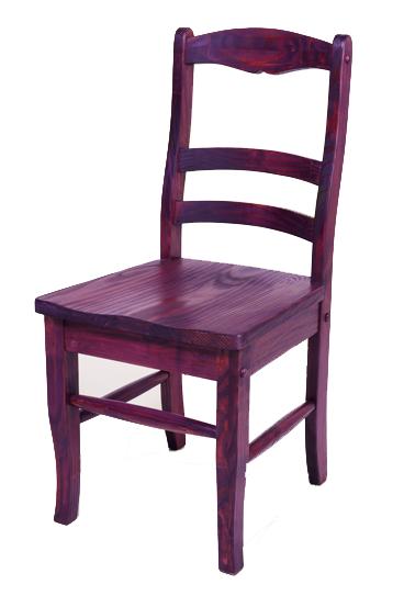 Dye Stain Wood Chair 2