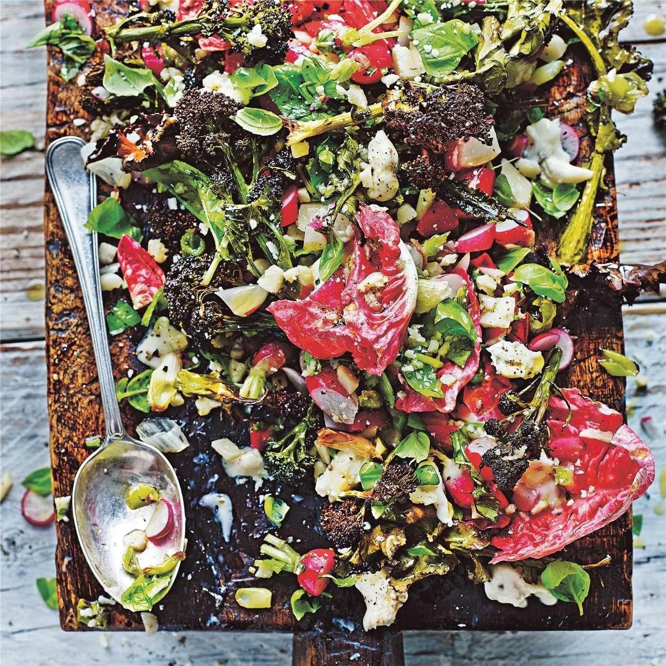 Jamies Roasted Verde Chopped Salad