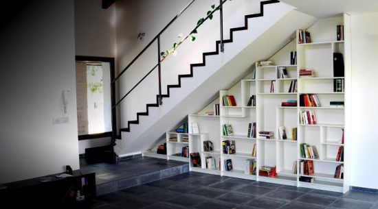 Sgantina Under Stairs Billy Bookshelves Ikea Hackers