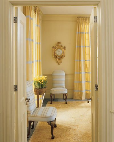 Light Gray And Yellow Color Scheme Calm Fall Decorating Ideas Yellow Living Room Yellow Room Yellow Curtains