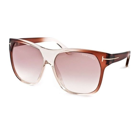 21ce84c7032a Tom Ford Women s Sunglasses Purchased from HauteLook  Tom Ford Women s  Plastic Sunglasses Model  TF 188 Frames  Transparent Brown Lenses  Rose  Gradient ...