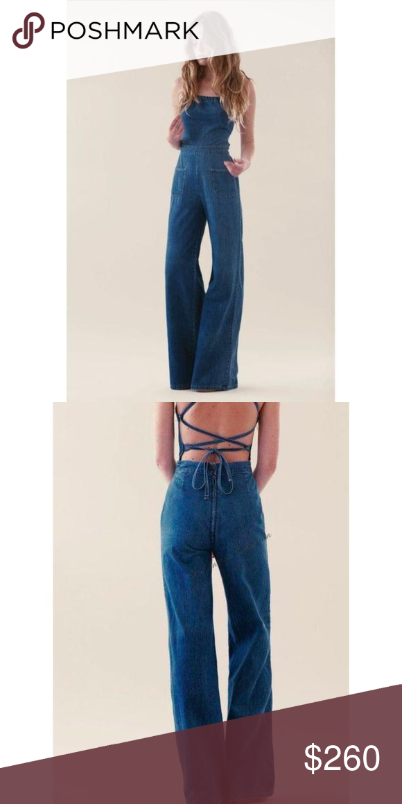 3be4a2576d0d Stoned Immaculate Jean Genie Denim Jumpsuit Filmor NWT Stoned Immaculate  Jean Genie Denim Jumpsuit Filmore WashWe