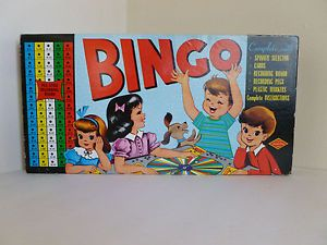 Warren Built Rite Games Bingo Board Game Vintage Around 1950's No 116 Game | eBay