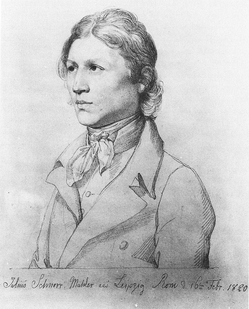 Julius Schnorr von Carolsfeld - Selbstbildnis - Julius Schnorr von Carolsfeld – Wikipedia