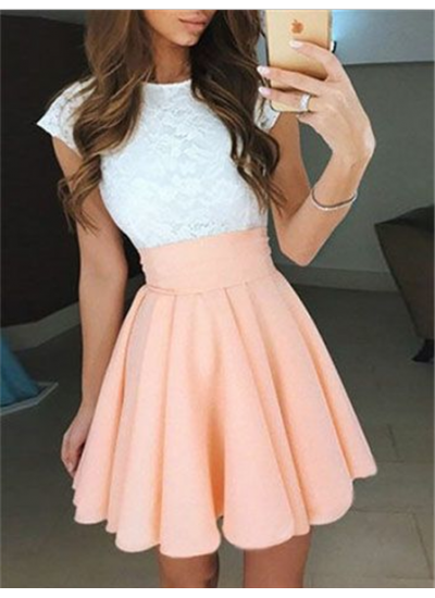 On Sale Absorbing Sleeveless Homecoming Dresses, Homecoming Dresses A-Line #homecomingdresses