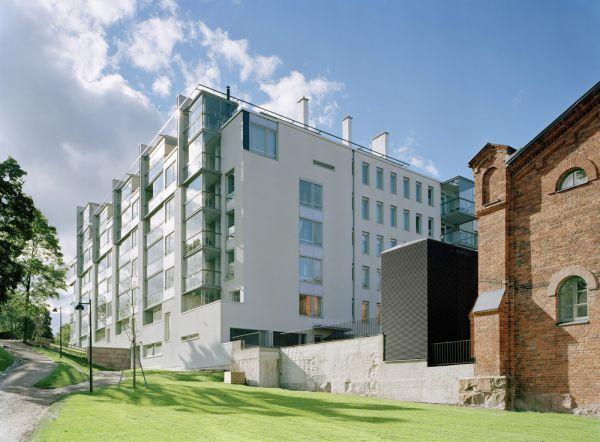 Bulevardin Aaria, Residential Building, Helsinki, Finland - LAHDELMA & MAHLAMÄKI ARCHITECTS