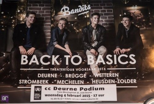 BANDITS 'Back To Basics - theatertour' in première