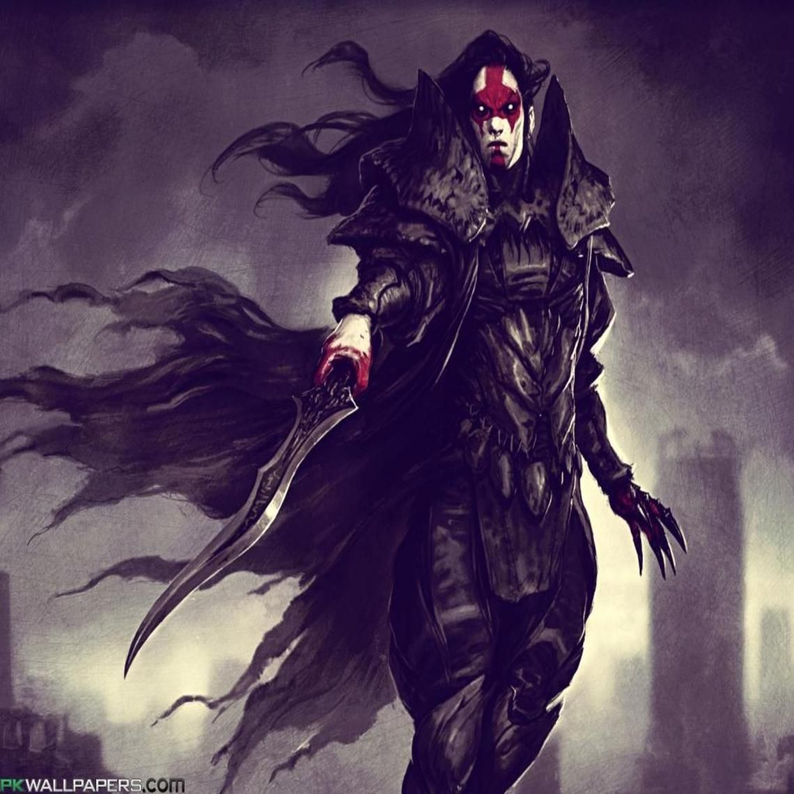 Vampire Warrior Hd Anime Wallpapers Android Wallpaper Anime Anime Hd Anime vampire wallpapers for android