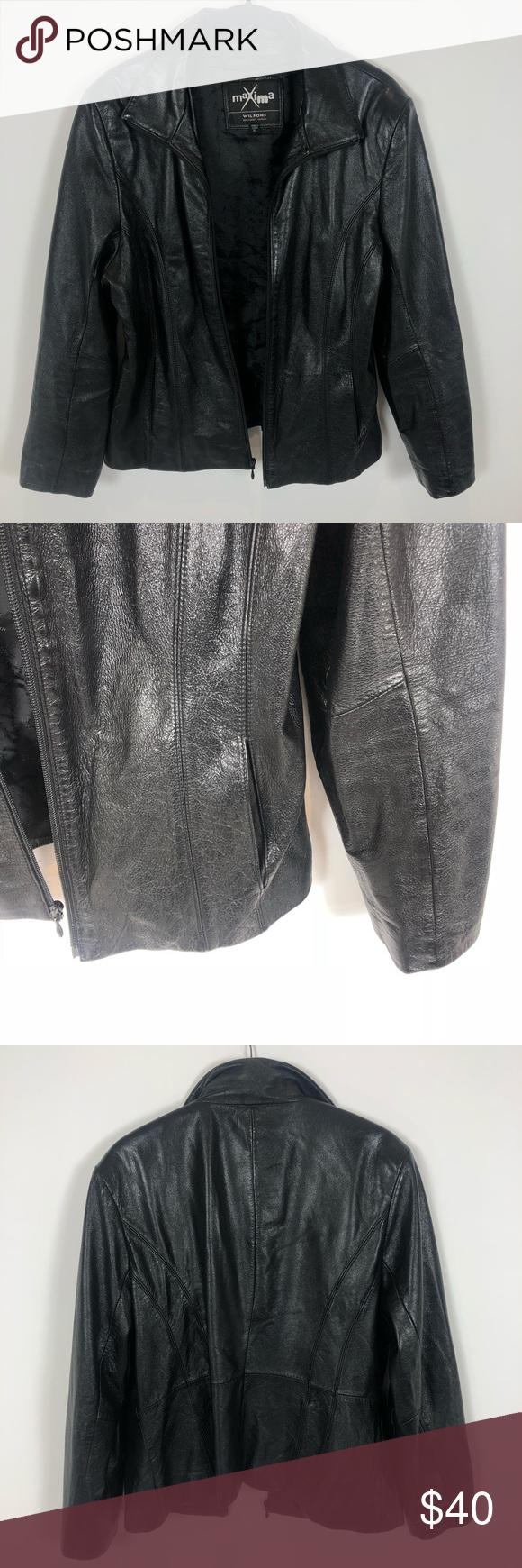 Maxima Wilsons Leather Jacket Maxima Wilsons Leather