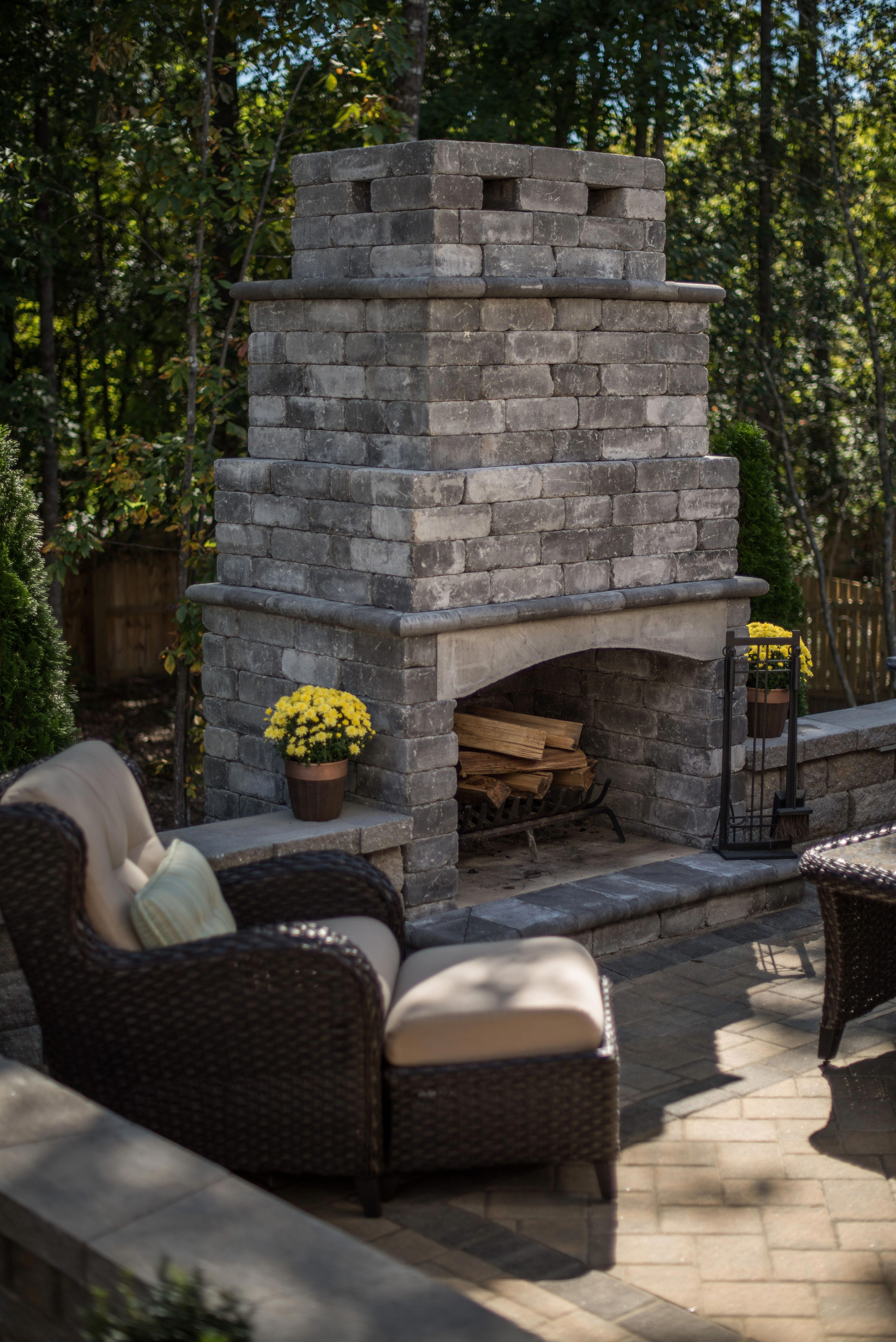 A fire pit fit for a king and his queen pergolafirepit