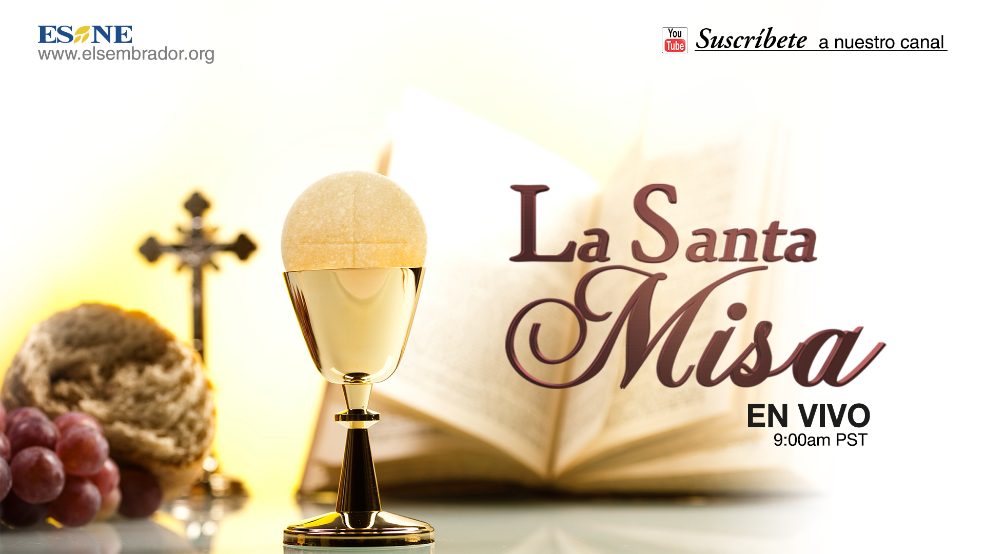 190 La Santa Misa En Vivo Ideas Misa Youtube Place Card Holders