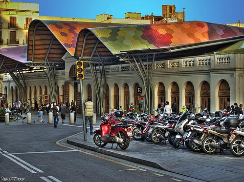 Mercat de Santa Caterina #market #barcelona