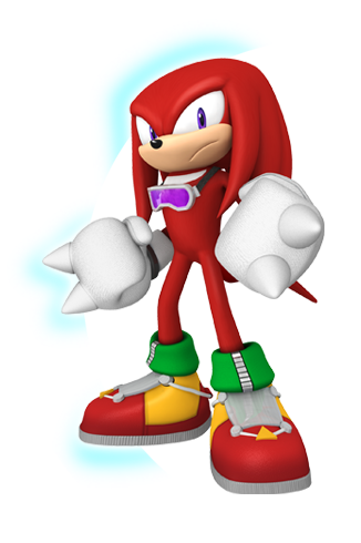 Knuckles The Echidna Sonic Free Riders Echidna Sonic