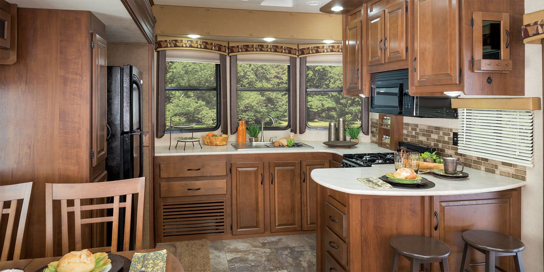 2017 Front Kitchen 5th Wheel Google Search Rear