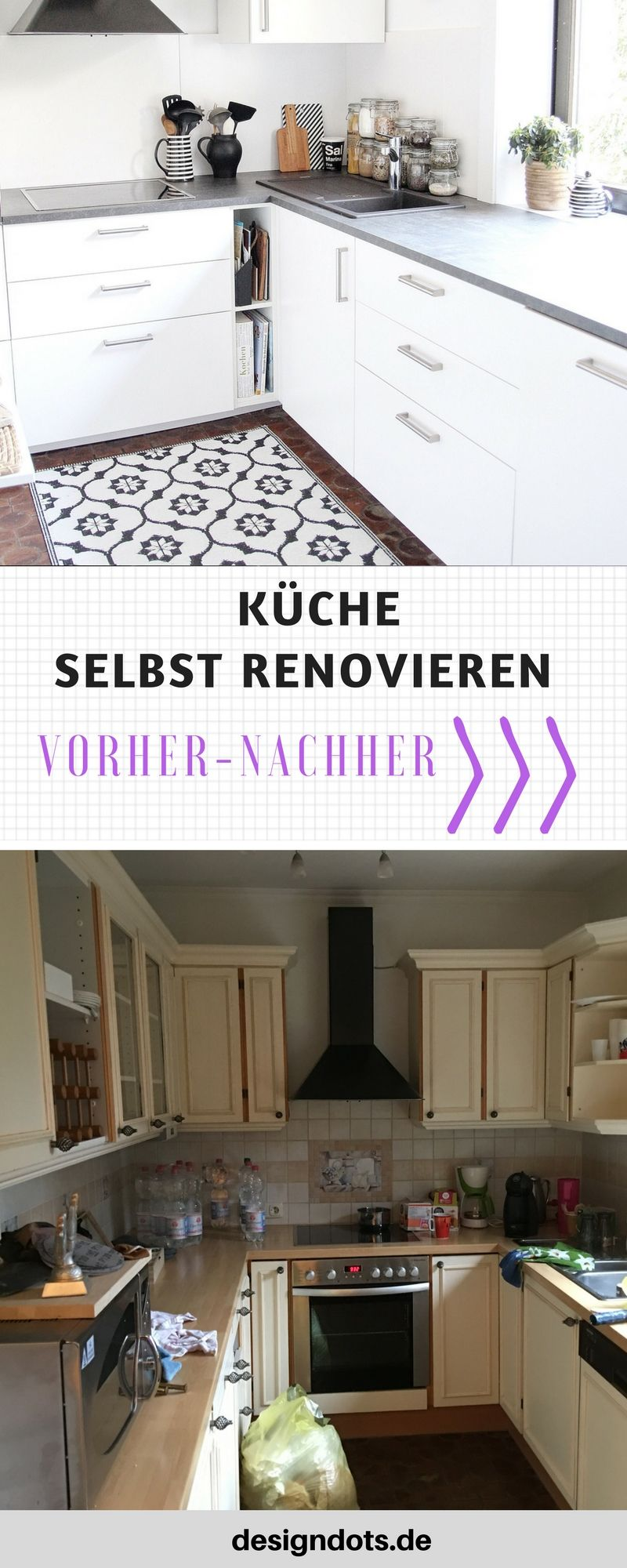 neue k che f r 1000 euro design dots blog und zuhause pinterest. Black Bedroom Furniture Sets. Home Design Ideas