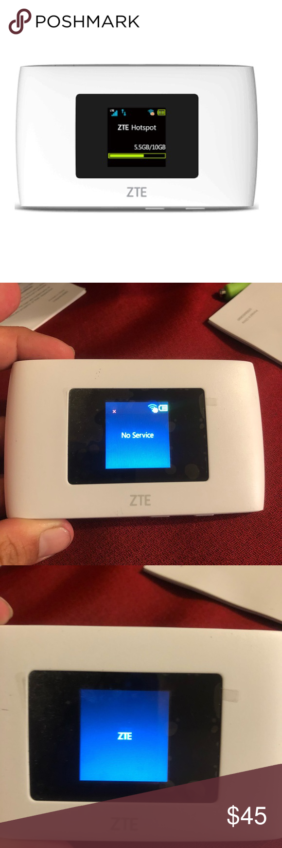 SPRINT ZTE WARP CONNECT HOTSPOT NICE GIFT WIFI This is a