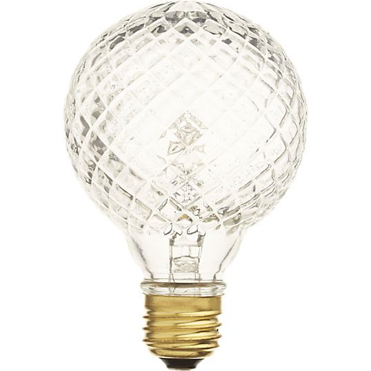 This is a halogen bulb, not filament.  And it is available in 40w and 60w.  Nice!!