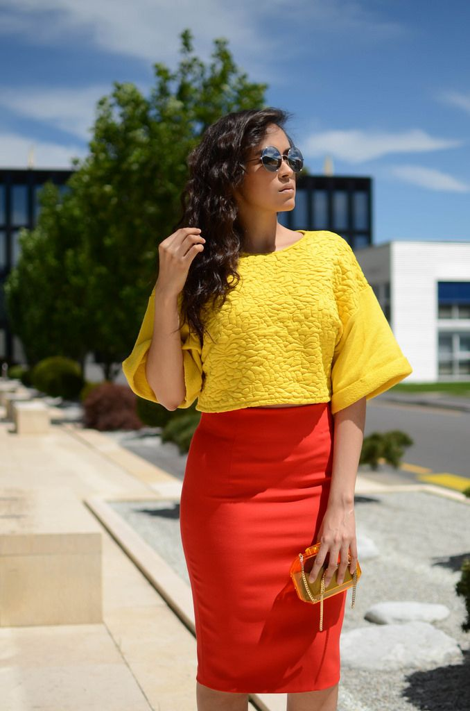 HIGH WAIST SKIRT AND CROP TOP (PASHIONALITY) | High waist skirt ...