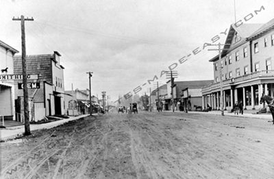 Historical Picture of Elma Washington 5th and Main Street