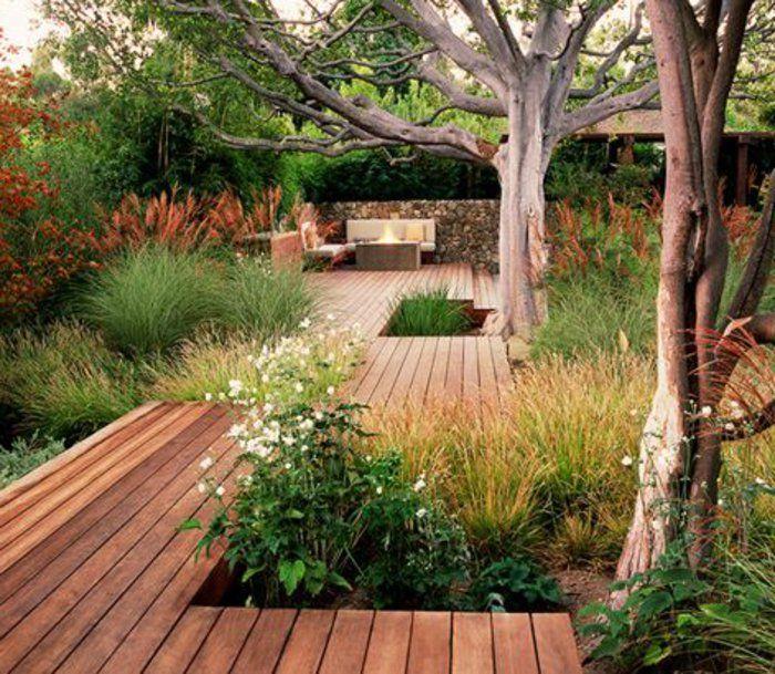 Nos Propositions En Videos Pour Faire Une Allee De Jardin Allee De Jardin Jardin Contemporain Amenagement Jardin