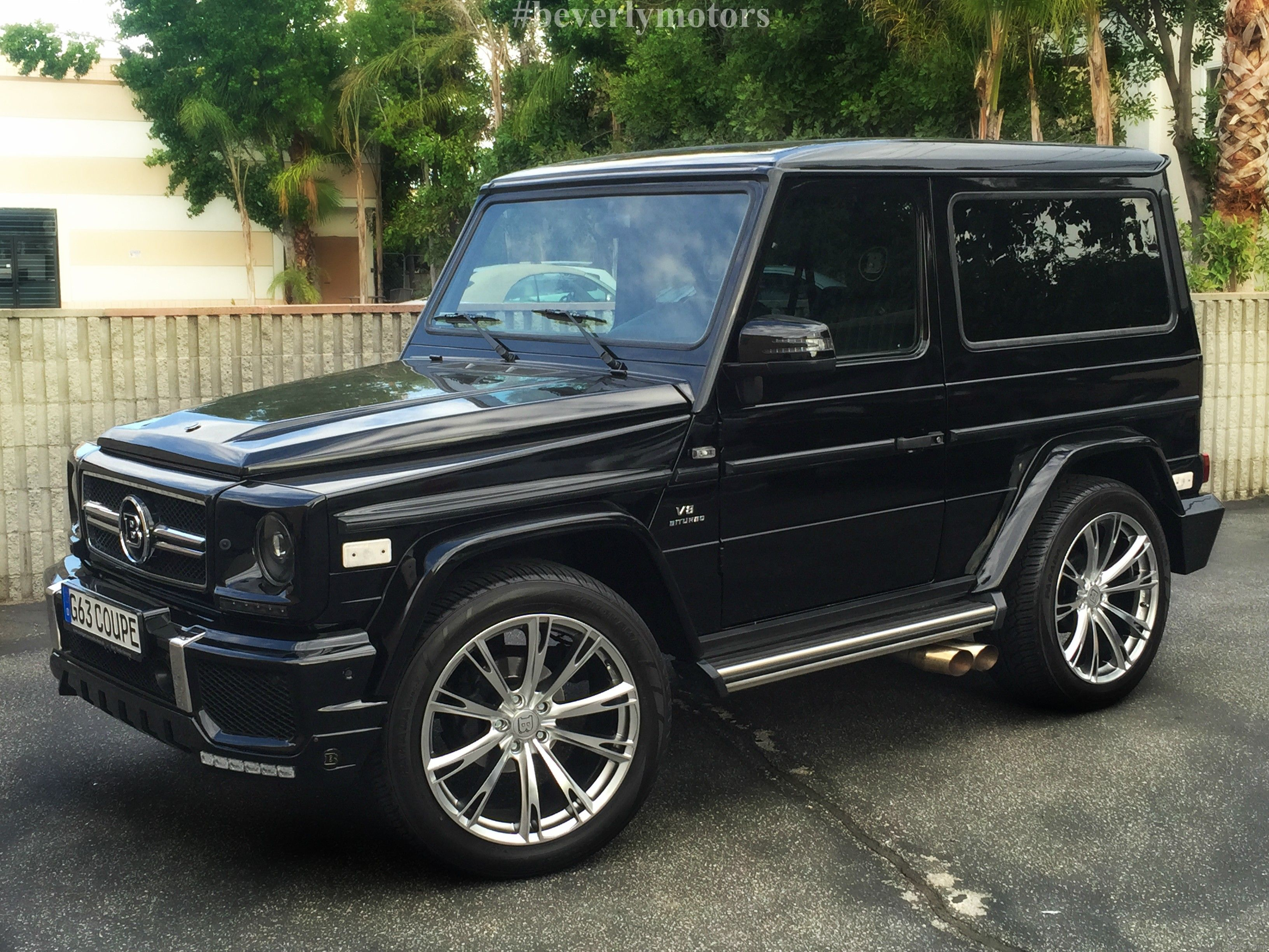 2001 Mercedes Benz G320 Coupe G63 Brabus Black On Black G55 G550