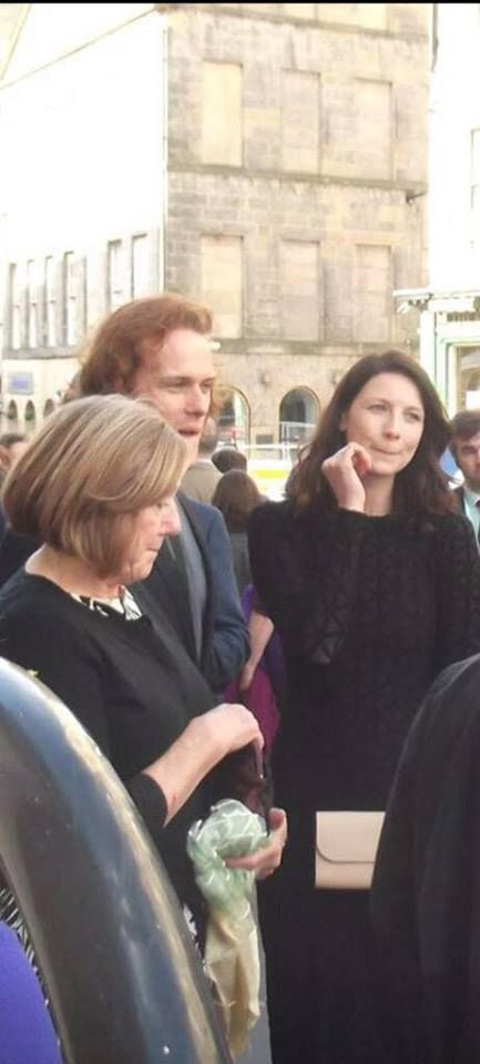 Cait, Sam and his mom!