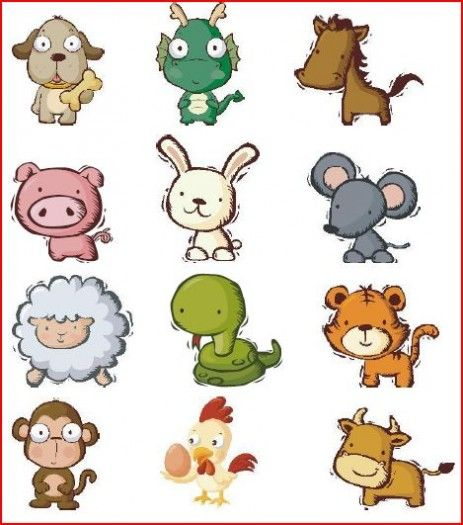 Freebie Friday! Chinese Zodiac Clothespin Activity | Activities ...