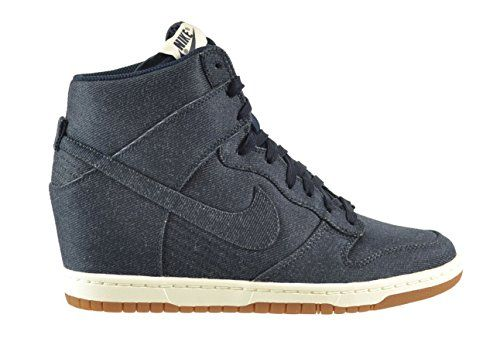 8001ffd2be9 Nike Women s Dunk Sky HI Essential Shoes Dark Obsidian Sail-Gum Medium  Brown 644877-400 (11.5 B(M) US) Nike  http   www.amazon.com dp B00NVP9SLI ref  ...
