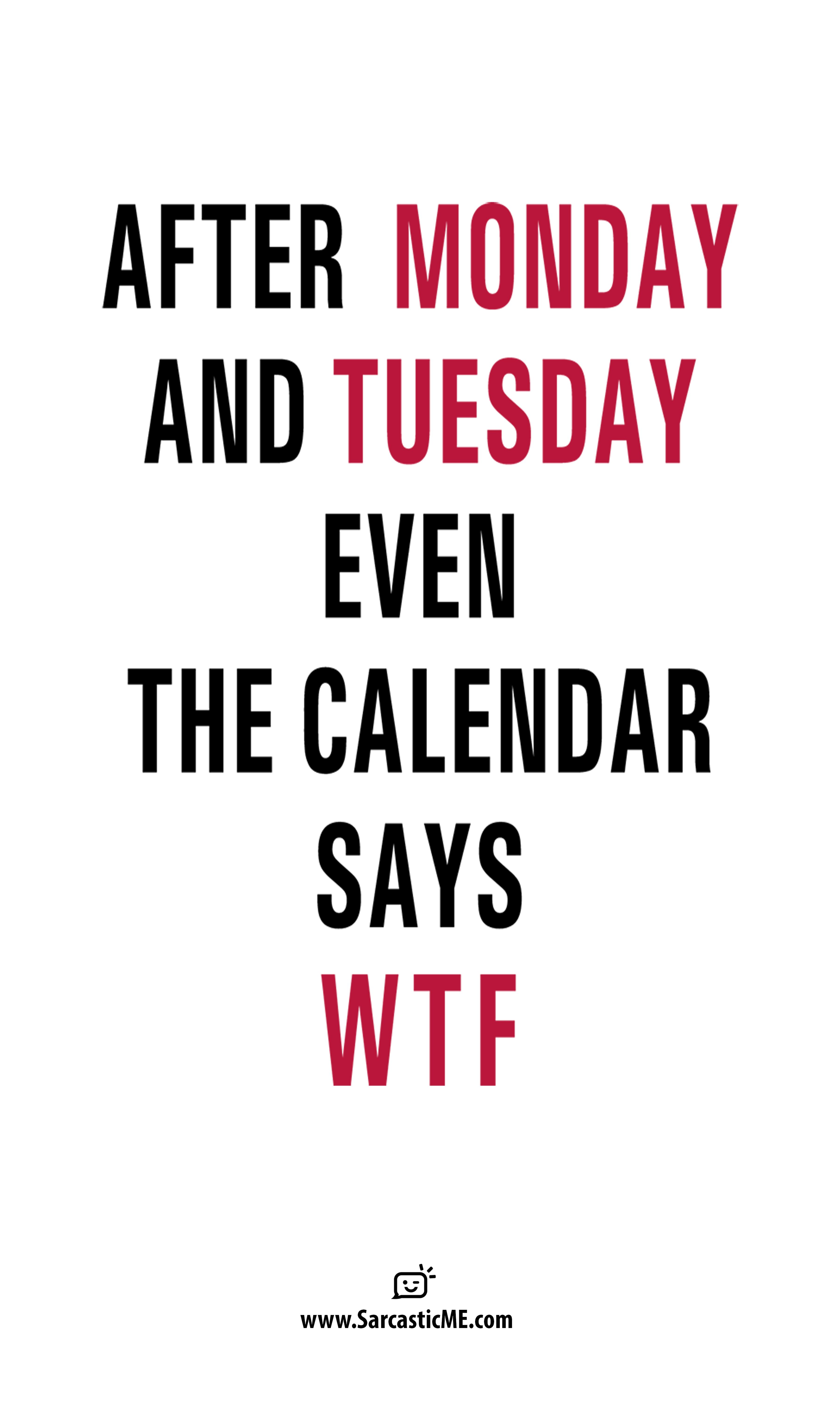 After Monday And Tuesday Wtf Funny Office Coffee Mug Sarcastic Quotes Crazy Quotes Funny Quotes