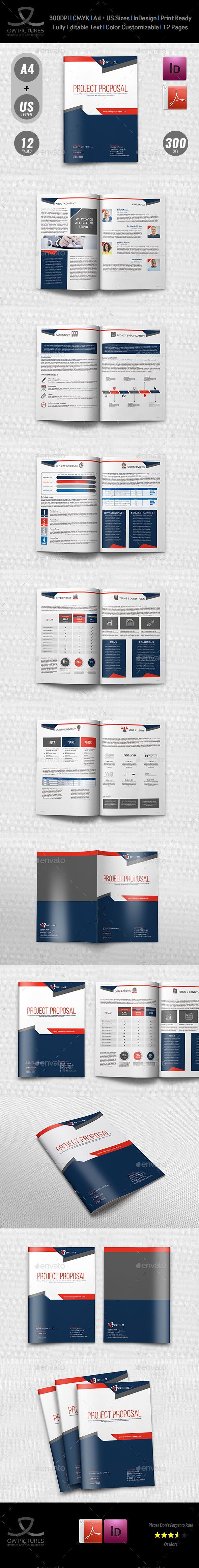Company Proposal Template Vol.4