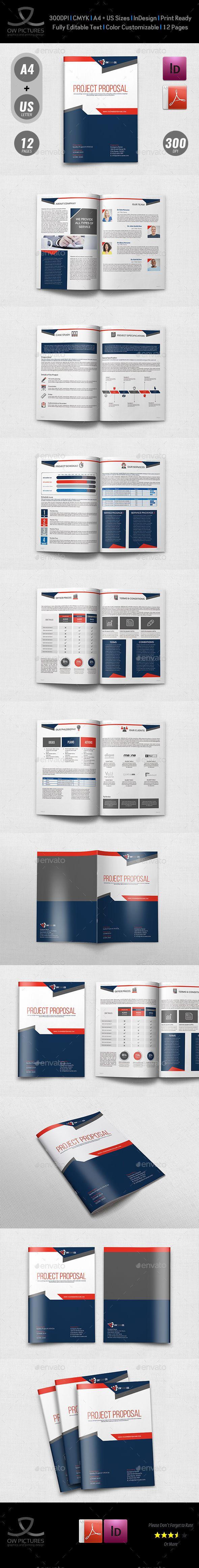 Company Proposal Template Vol.4 | Pinterest