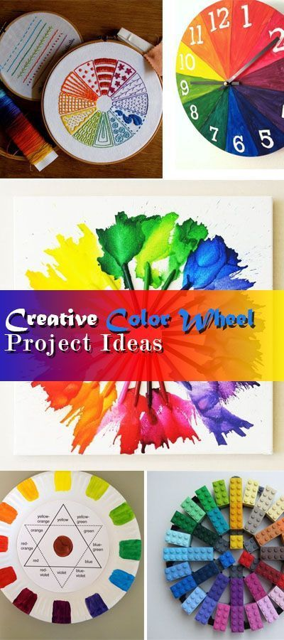 Creative Color Wheel Project Ideas Easy Projects Tutorials