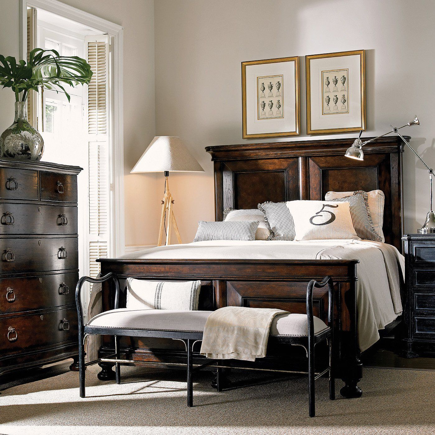 Pinesdale Panel Bed & Reviews Birch Lane Iron bed